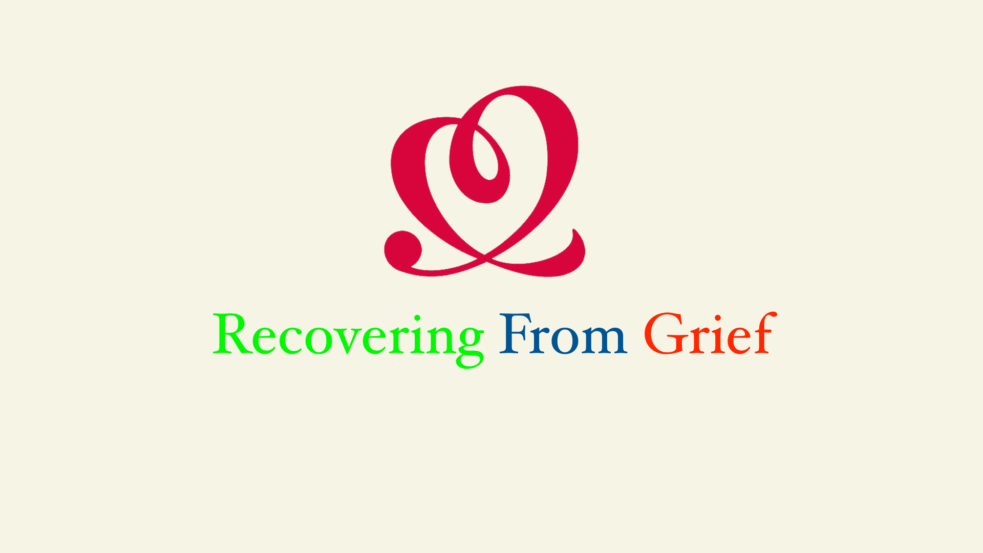 Recovering From Grief.001