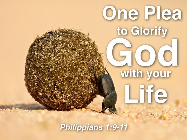 One Plea to Glorify God.001